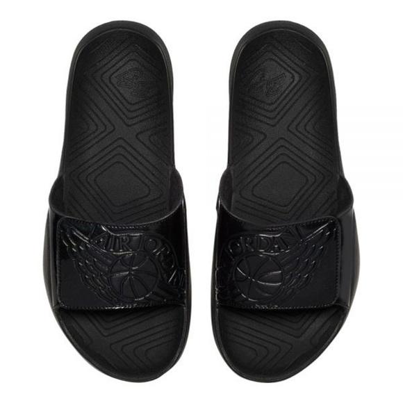 506b7f1cb00a Men s Nike Jordan Hydro 7 size 10 Black Sandals